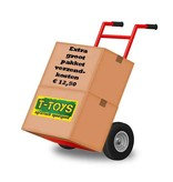 Rolly Toys Rolly Toys 123933 - 2 assige aanhanger met containerset