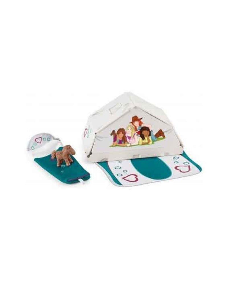 Schleich Schleich Horses 42537 - Accessoires camping