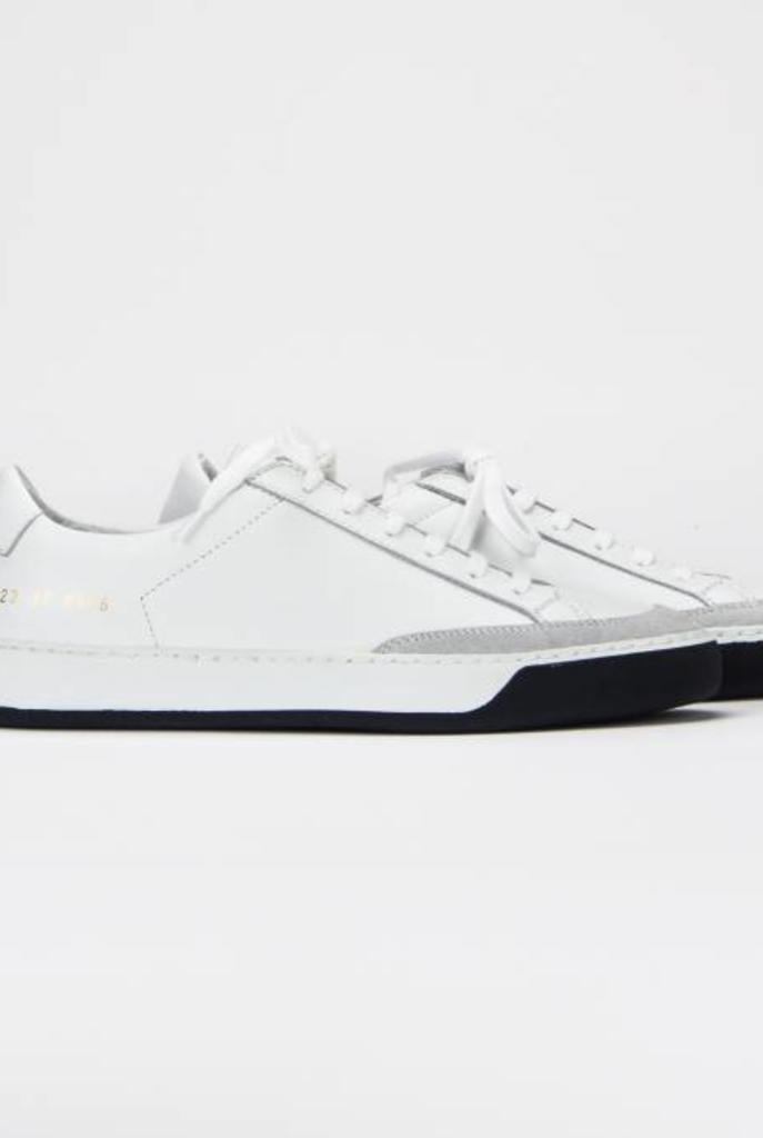 Tennis pro sneaker black and white