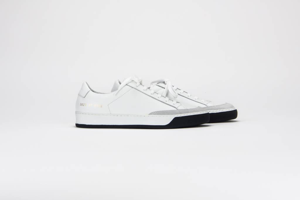Tennis pro sneaker black and white