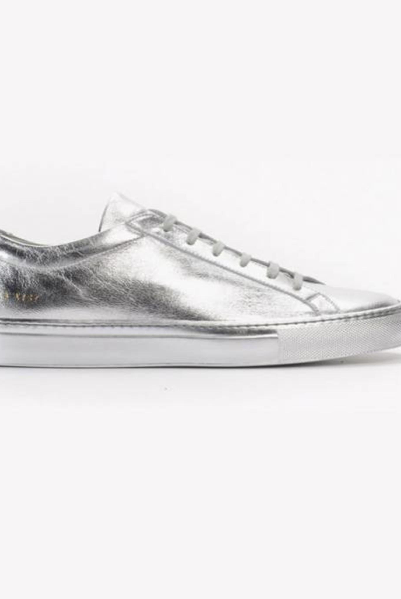 Achilles low sneaker silver
