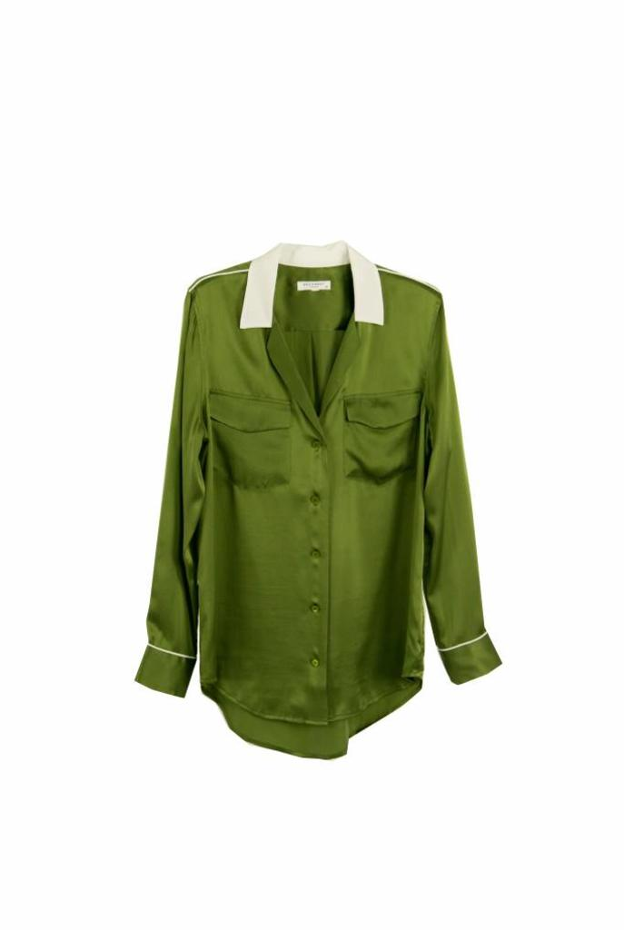 Ansley shirt combat green