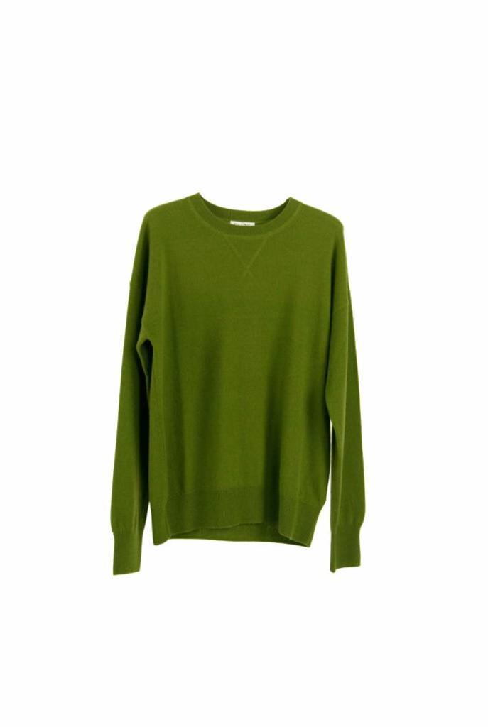 Renee cashmere sweatshirt combat green