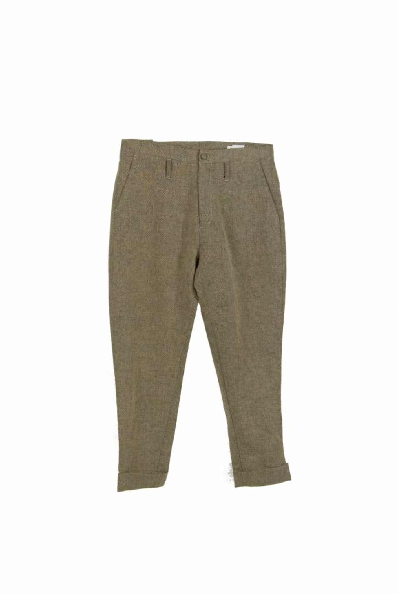 Law trouser beige melange