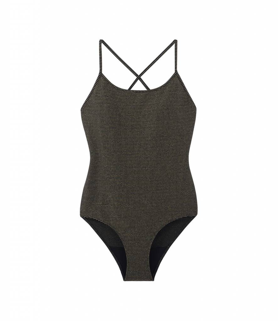 A.P.C. Goldie swimsuit black
