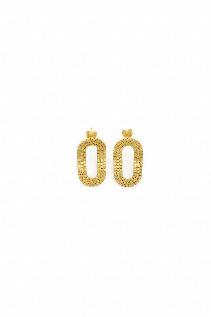 O o Romeo earrings gold