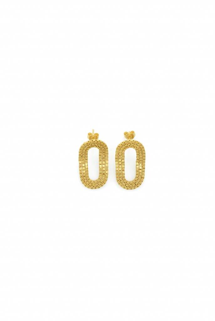 O o Romeo earrings gold