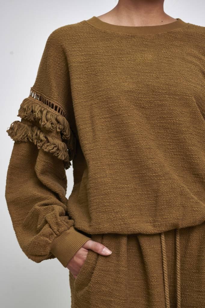 Zarina pullover army