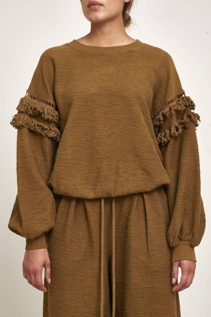 Ulla Johnson Zarina pullover army