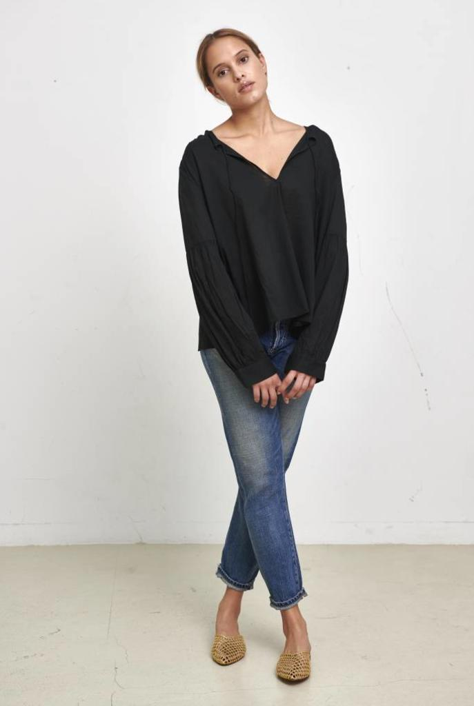 Anla top black