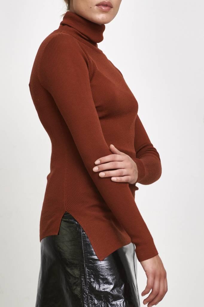 Vanessa Bruno Jacklin pullover col brique