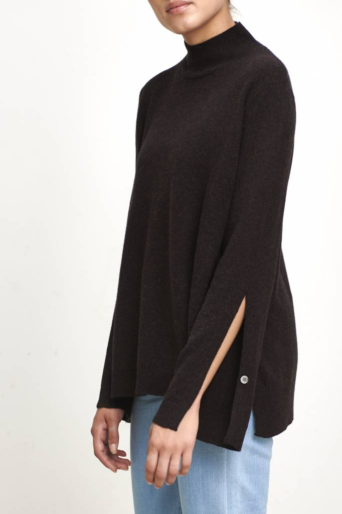 Hope Rio sweater brown melange