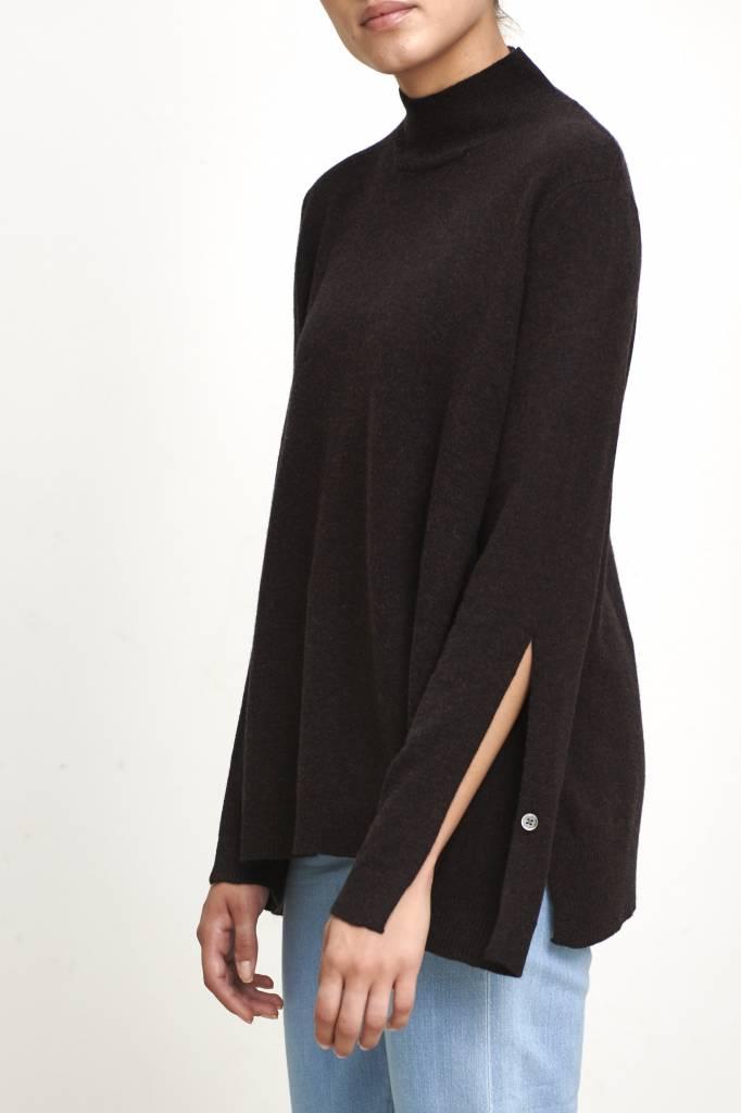 Rio sweater brown melange