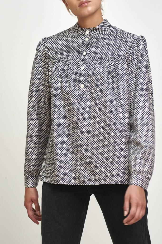 A.P.C. Loula blouse dark navy