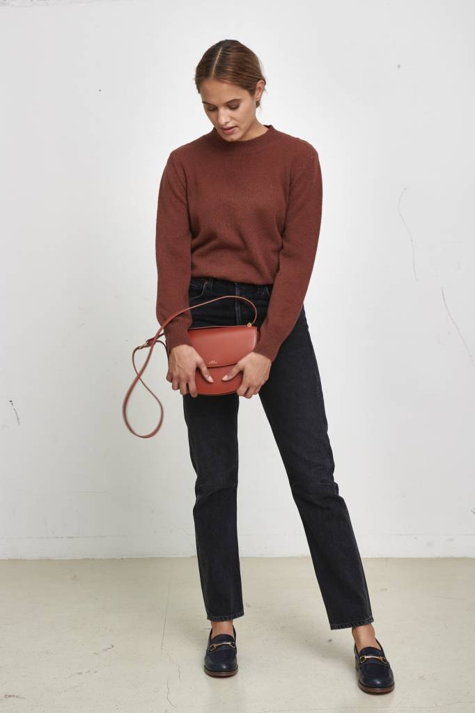A.P.C. Maia pull whisky