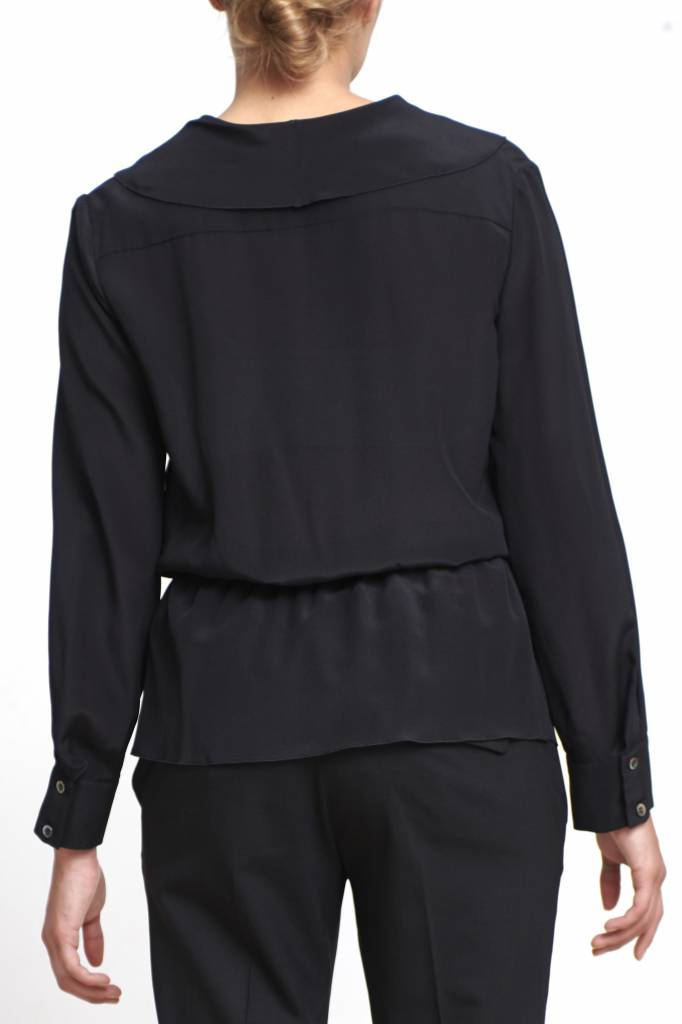 Edna blouse black