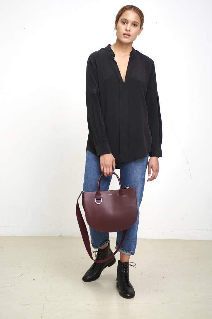 Equipment Estella blouse true black