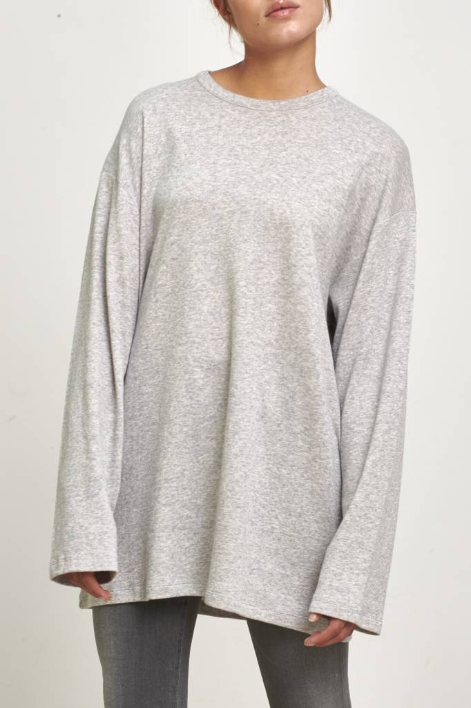 Can Pep Rey Oversized L/S shirt heather grey