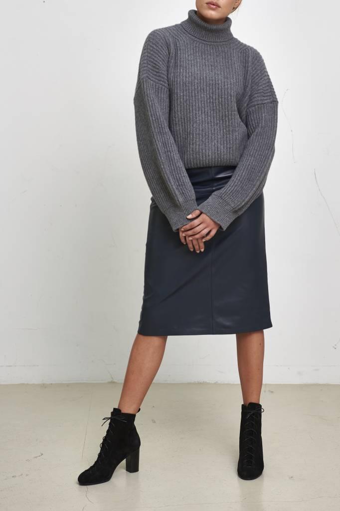 Turtleneck sweater december sky
