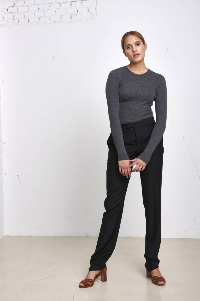 Editions M.R Chiara smoking pantalon black