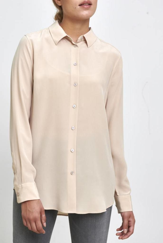 Essential blouse safari sand