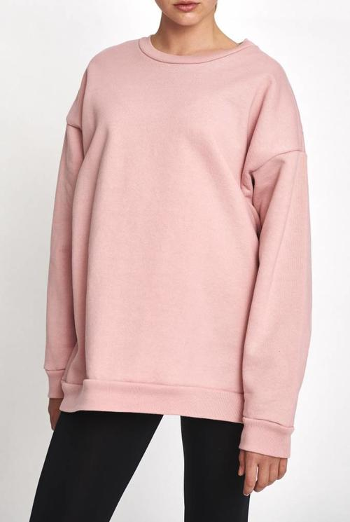Classic sweater new dusty pink