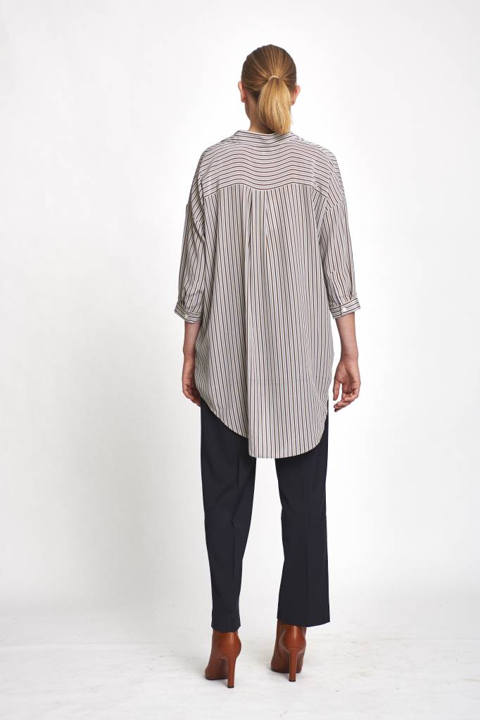 Bianca shirt Tricolo stripe