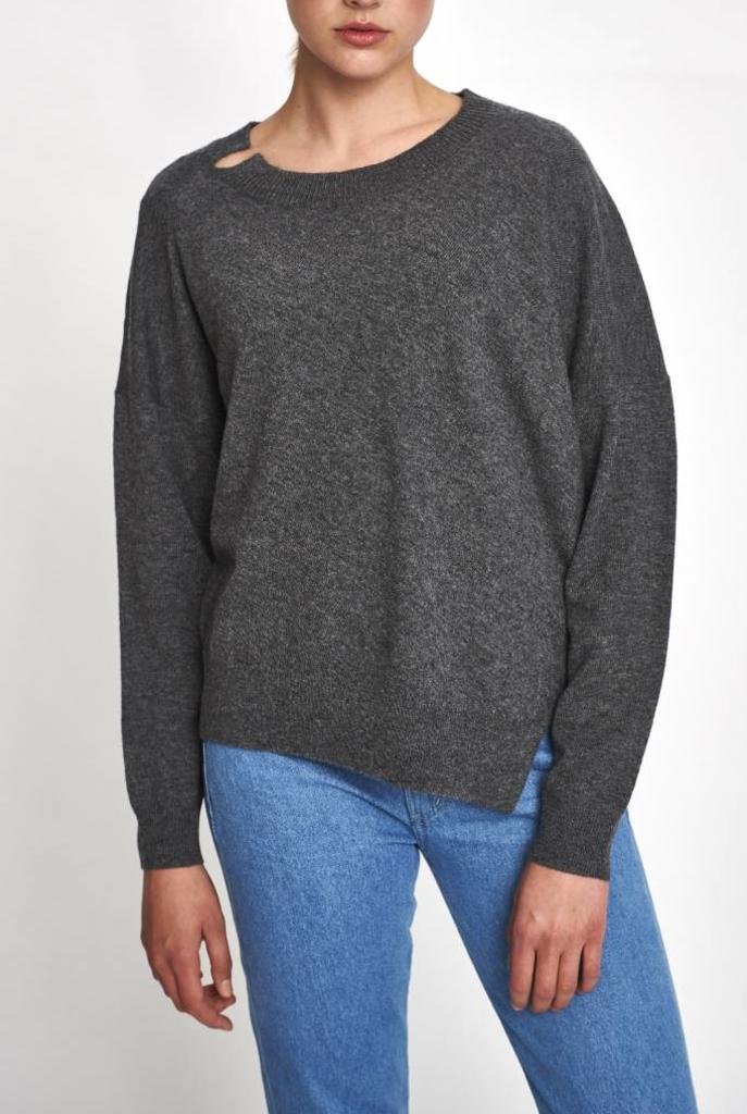 Jules sweater tweed grey