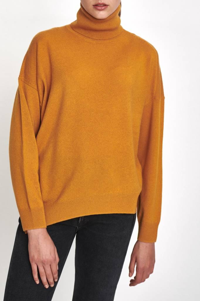 Vanessa Bruno Jamaica col sweater rust