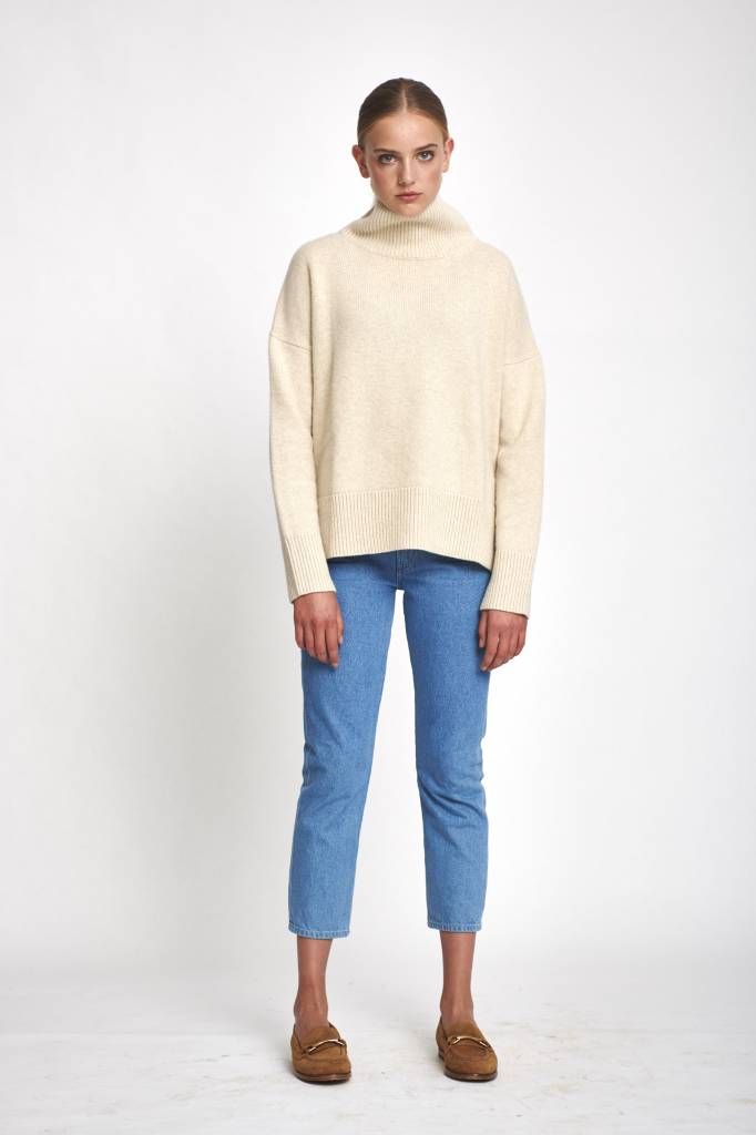 Vanessa Bruno Jafet sweater ecru
