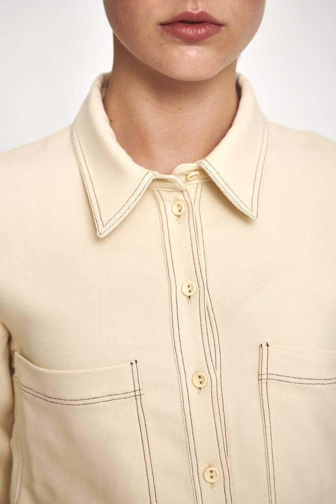 Sha blouse cream