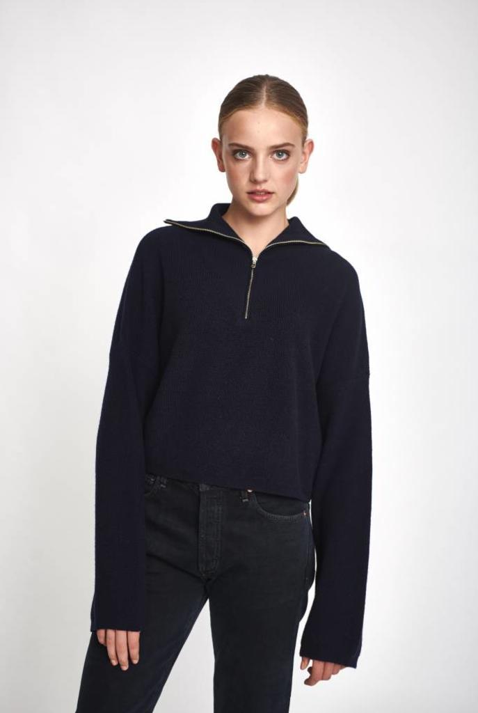 Roisin sweater in navy
