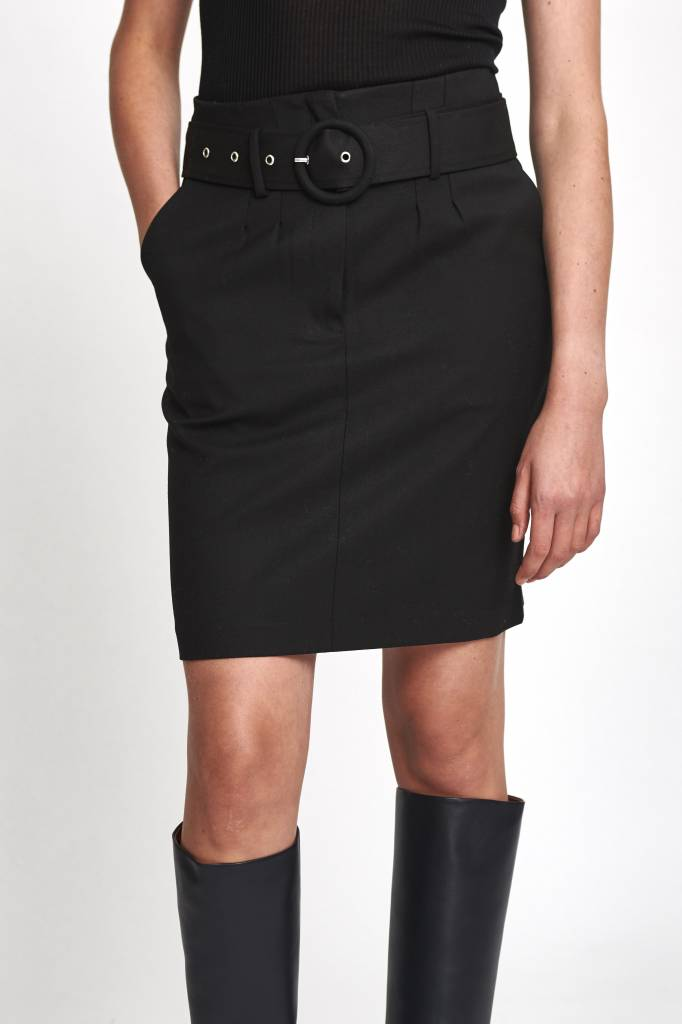 Les Coyotes De Paris Mika skirt in black