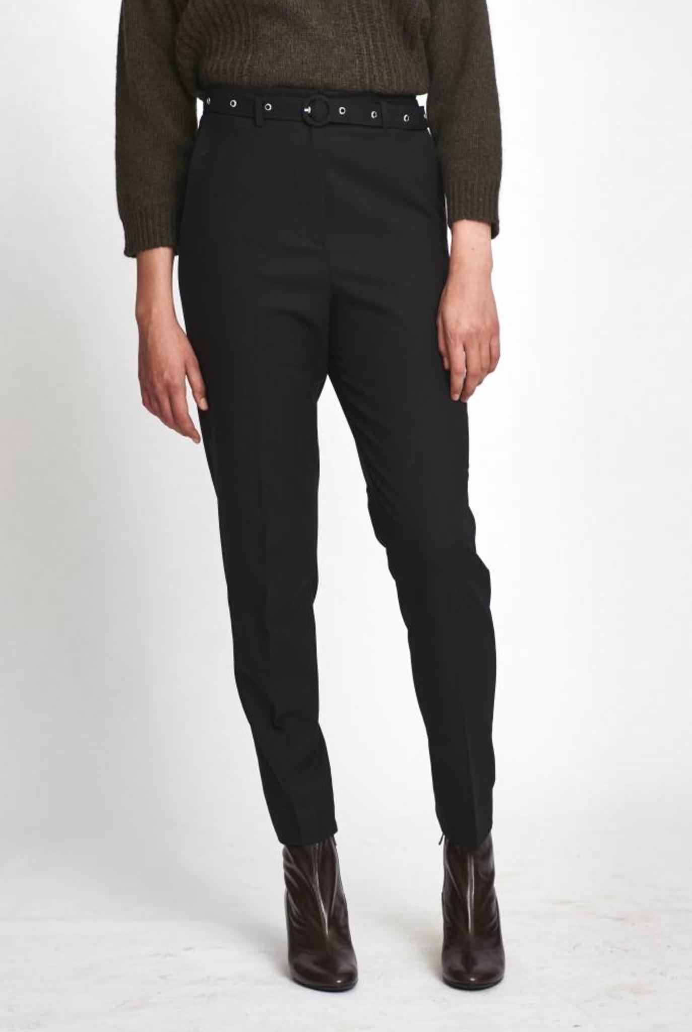 Johnny pantalon in black