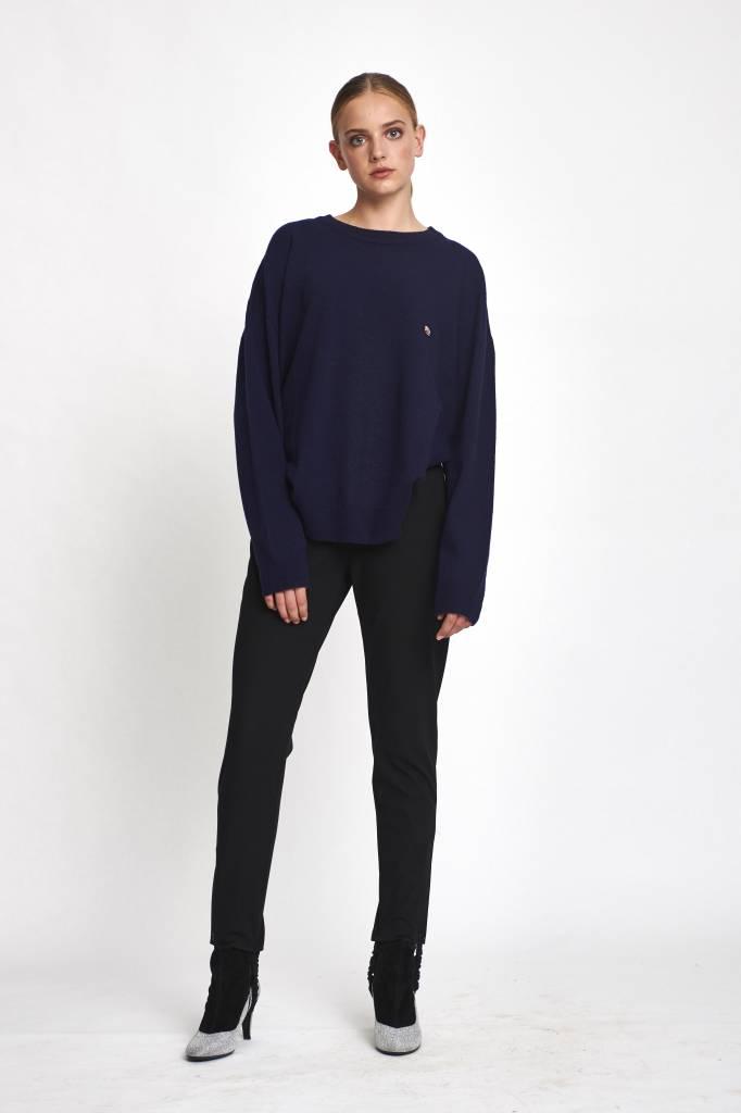 Stand Aloné Oversized sweater wool kingsblue