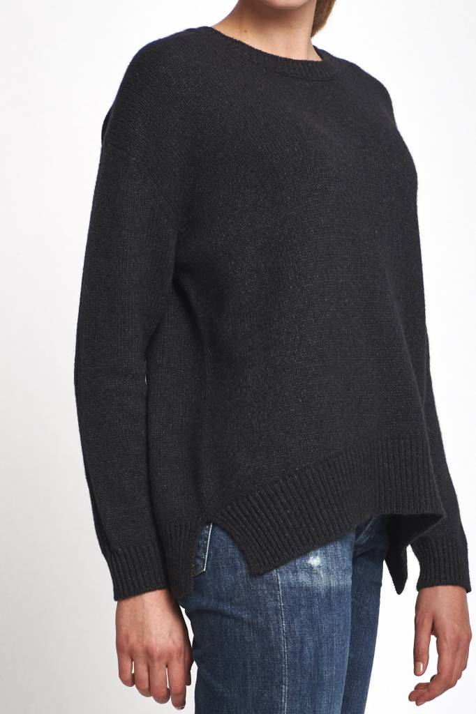 wool anthracite sweater