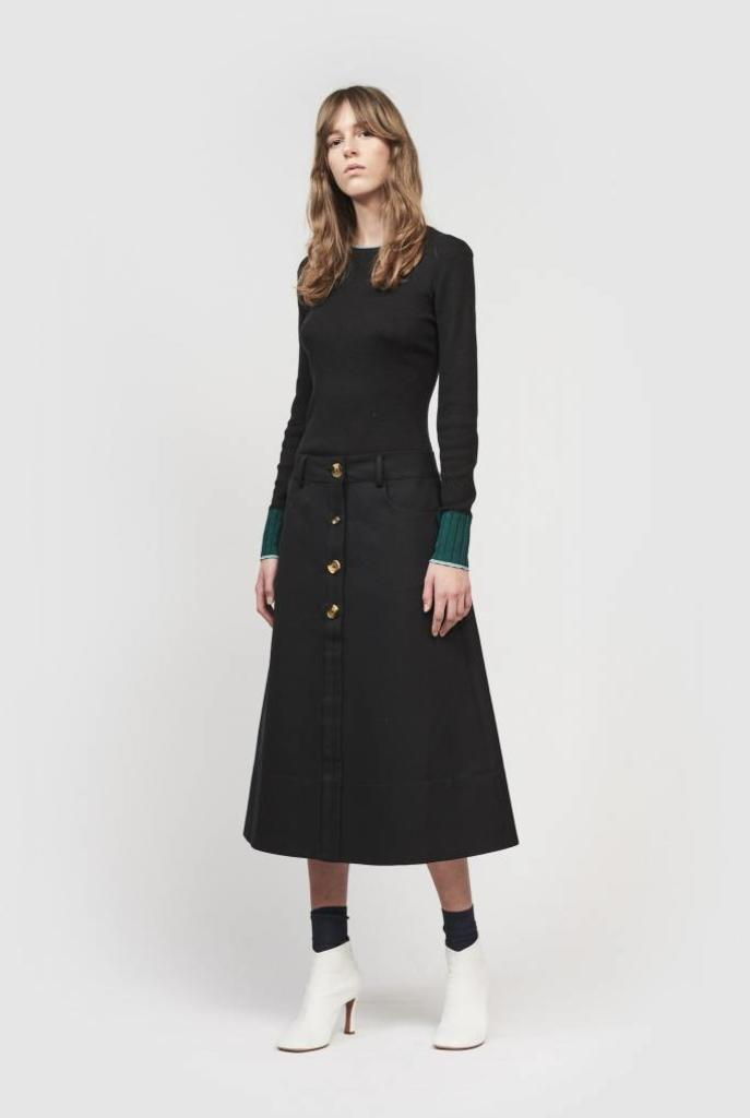 Joni skirt black