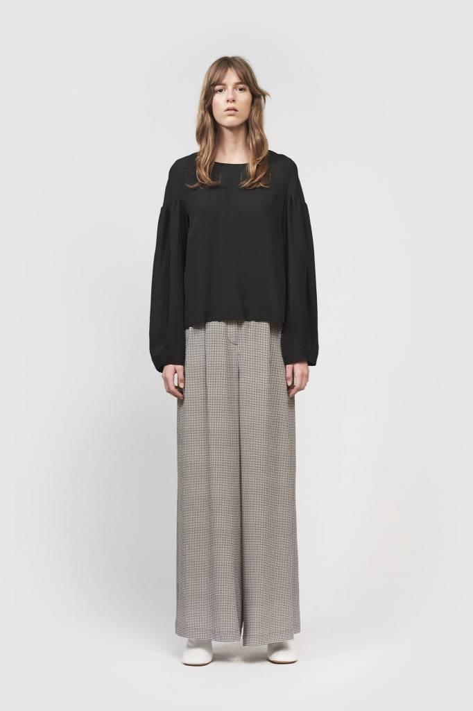 Kokoon Cecco long pants houndstooth print
