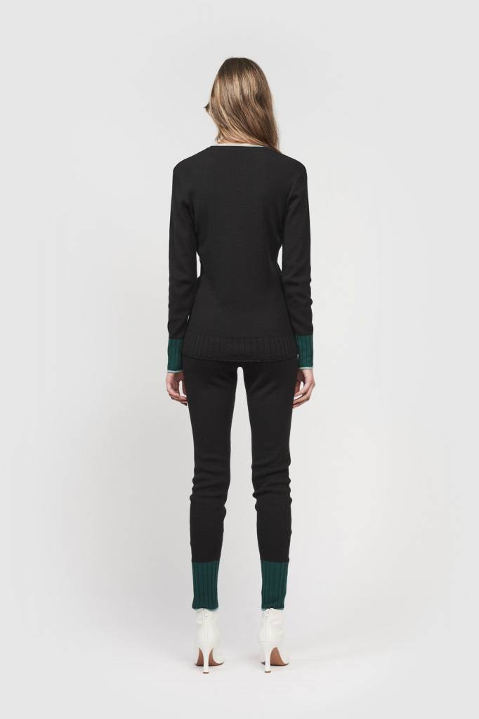 Dex leggings black/ green/ blue