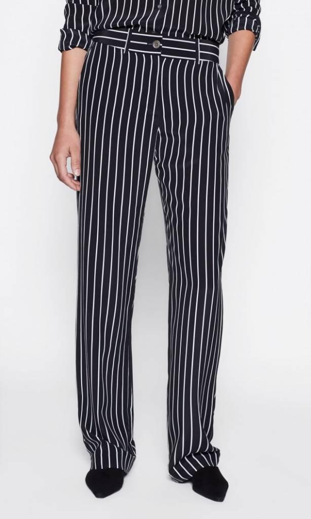 Equipment Lita trousers true black stripe