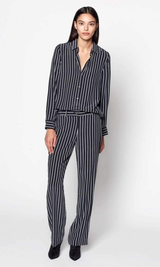 Equipment Essential blouse true black stripe