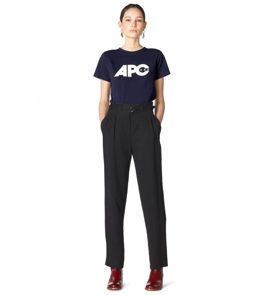 A.P.C. Pantalon Joan black