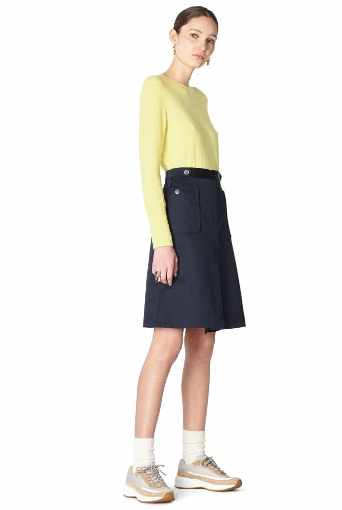 Catherine skirt dark navy