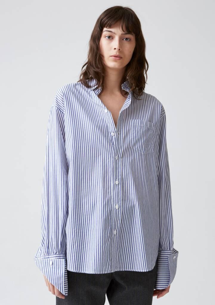 Hope Brave shirt blue stripe