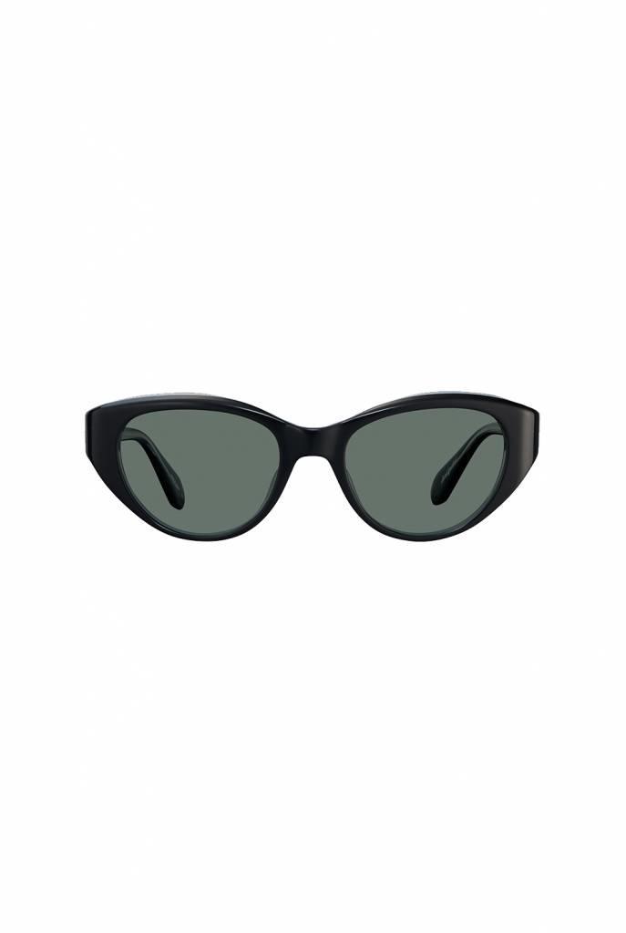 Del Rey sunglasses black laminate