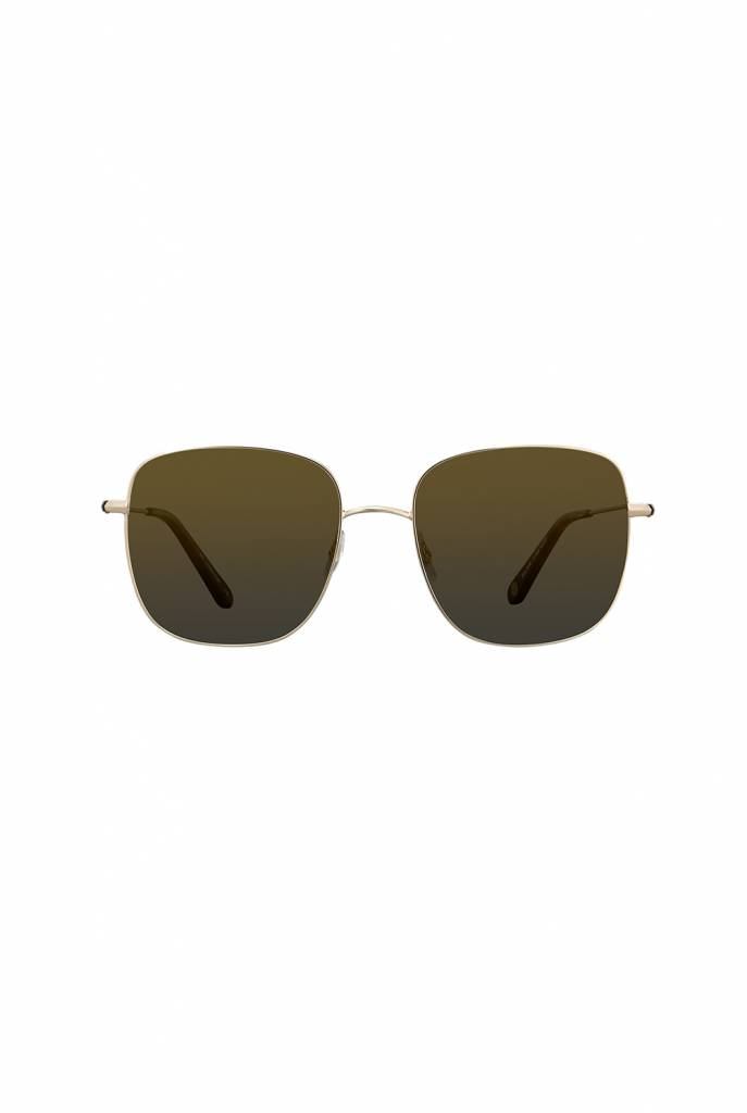 Garrett Leight Tuscany sunglasses honey tortoise gold flash