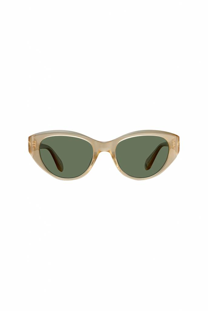 Garrett Leight Del Rey sunglasses blonde green