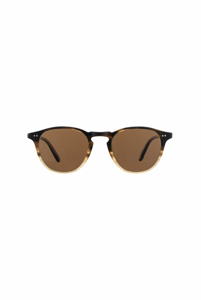 Garrett Leight Hampton sunglasses sandalwood drift pure coffee