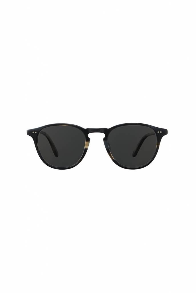 Garrett Leight Hampton sunglasses basalt grey black