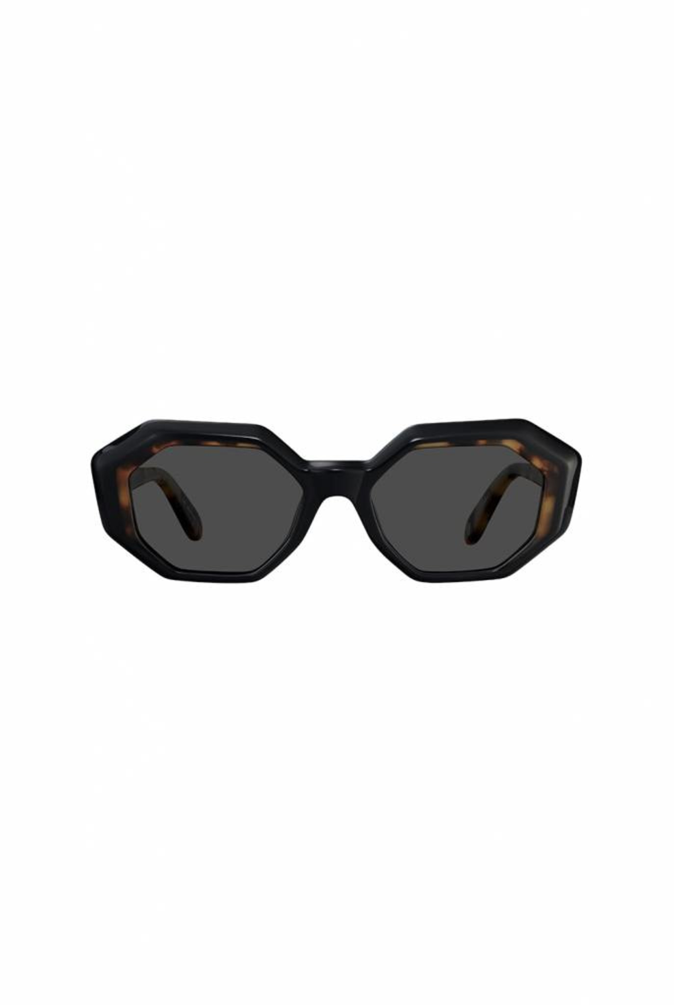 Jacqueline sunglasses black tortoise green